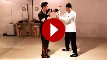 詠春拳技法での組手